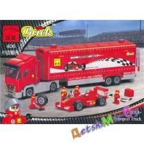 Конструктор (Brick) Транспортный грузовик (аналог LEGO)